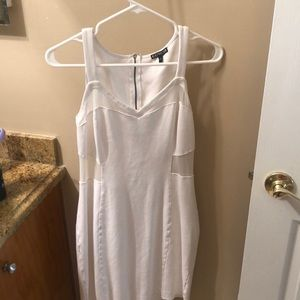 Great white dress. Perfect for bachelorette